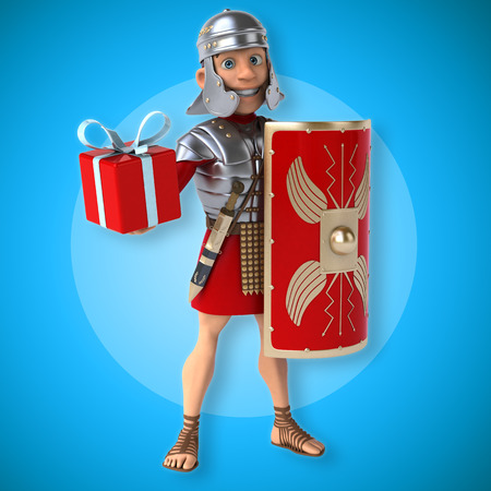christmas military: Roman soldier