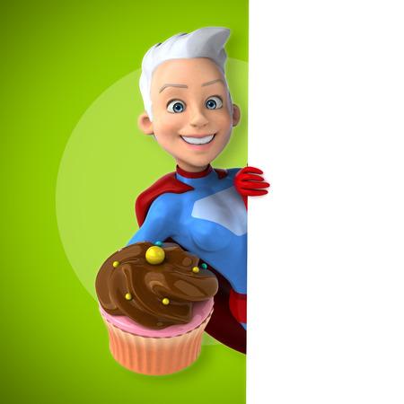 super woman: Super woman Stock Photo