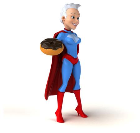 superwoman: Super woman Stock Photo
