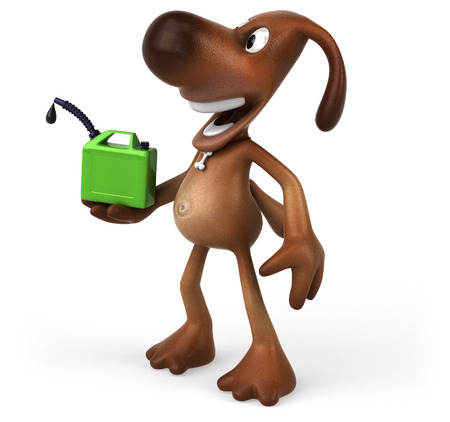 Fun dog Stock Photo