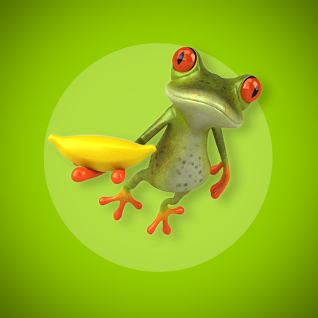 ecosystems: Fun frog