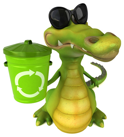 amphibian: Fun crocodile