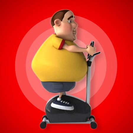 fatness: Diet Stock Photo