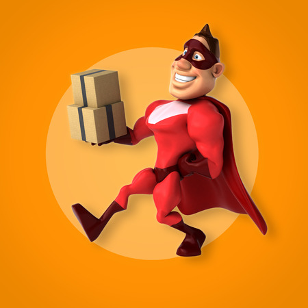 strong box: Fun superhero