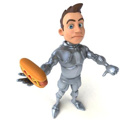 food fight: Fun knight