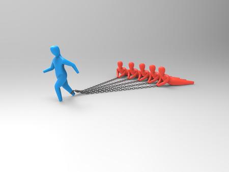 stalker: Burden - 3D Illustration