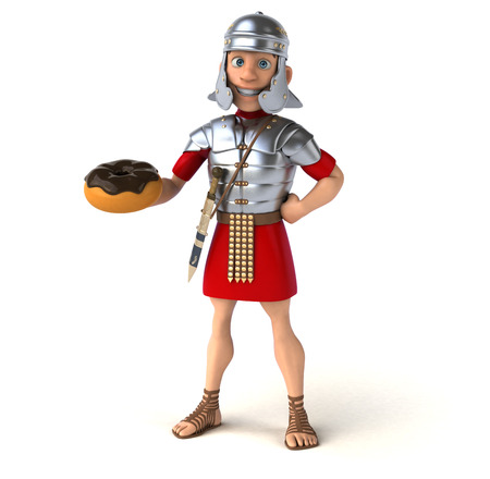 roman empire: Roman soldier