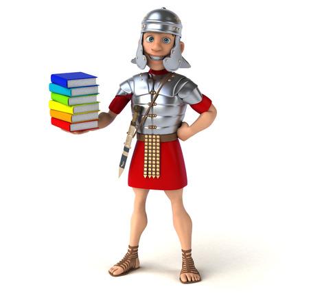school strategy: Roman soldier