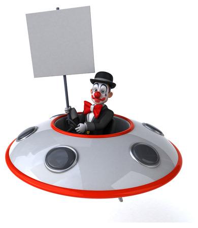 platillo volador: Fun clown