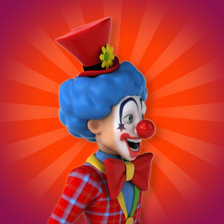 wig: Fun clown