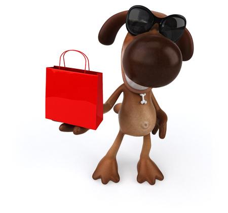 dog: Fun dog Stock Photo