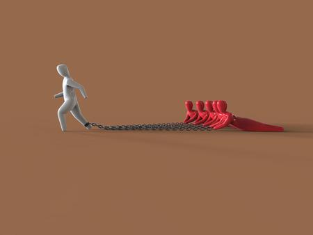Burden - 3D Illustration