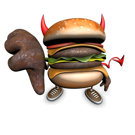 Hamburger - 3D Illustration