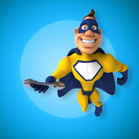 Fun superhero