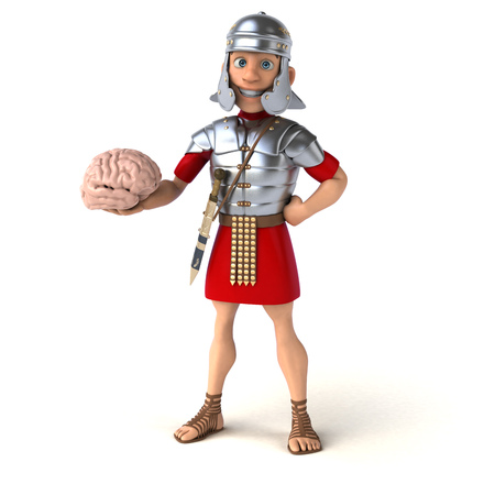 philosophic: Roman soldier