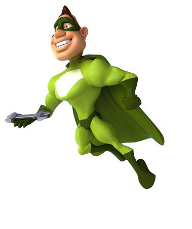 power wrench: Fun superhero