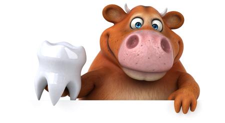 Pretkoe - 3D illustratie