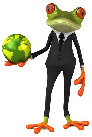 Fun frog Stock Photo - 80828152