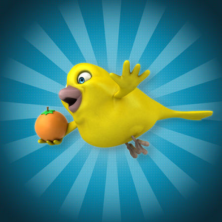 Fun bird Фото со стока - 84348507