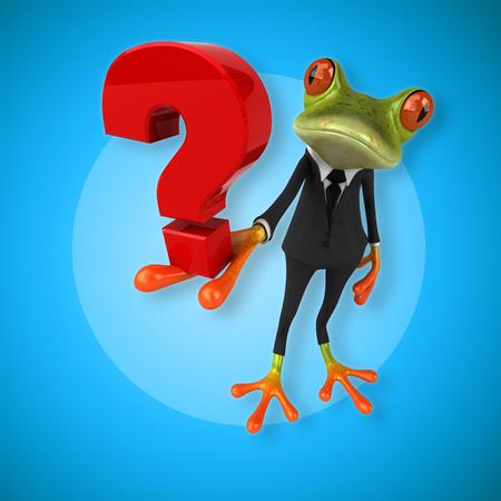 Fun frog Stock Photo - 84357511