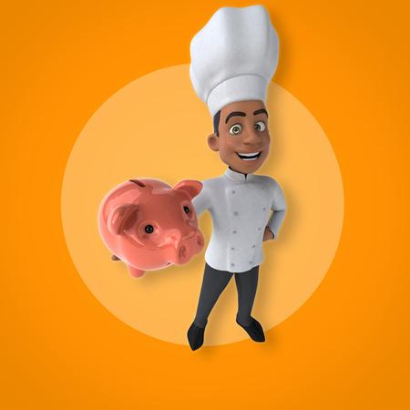 Fun chef Stok Fotoğraf - 87259947