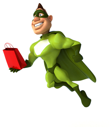 Fun superhero Reklamní fotografie - 87260119