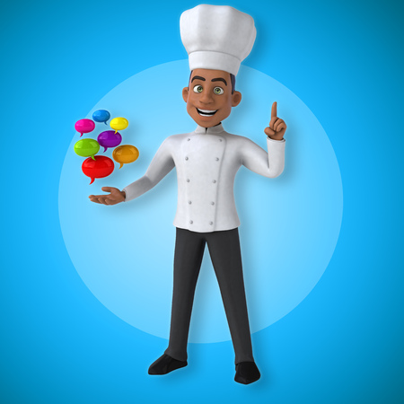 Fun chef Stok Fotoğraf - 87260145