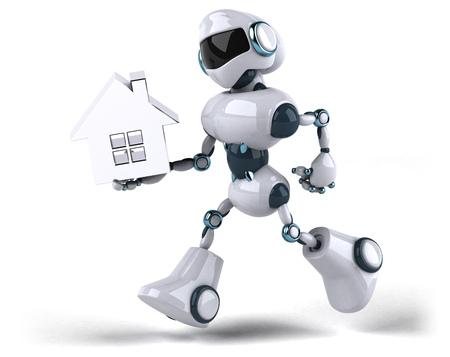 Roboter Standard-Bild - 89415622