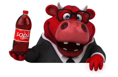 Bull - 3D Illustration