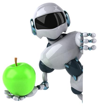 Roboter Standard-Bild - 95055748