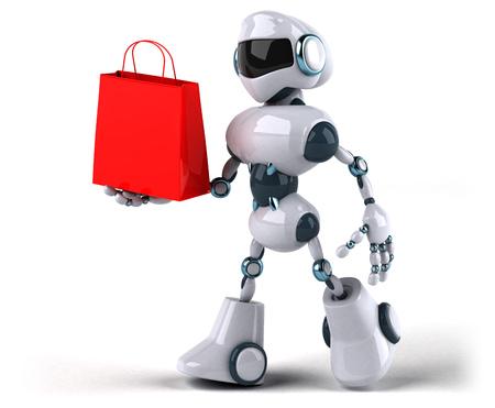 Roboter Standard-Bild - 95088348
