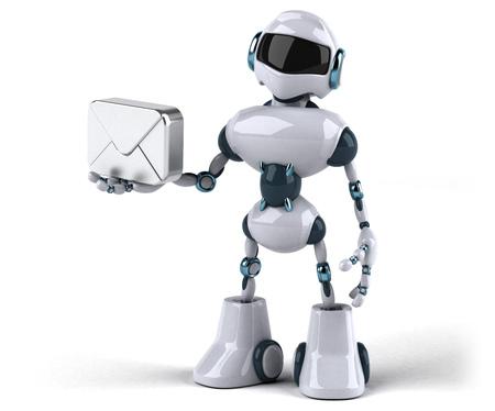 Roboter Standard-Bild - 95088429