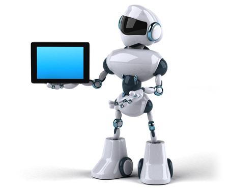 Roboter Standard-Bild - 95055699