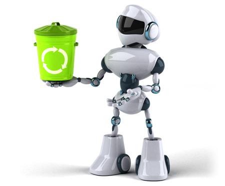 Robot Standard-Bild - 103932333