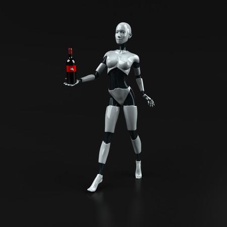 Robot - 3D Illustration