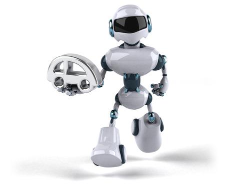 Roboter Standard-Bild - 104027649