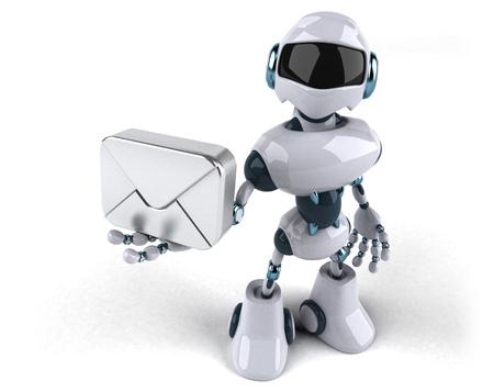Robot Standard-Bild - 103966627