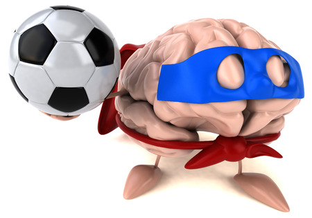 Brain with a ball