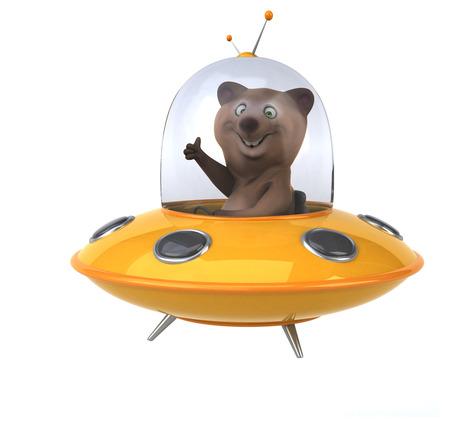 Fun bear Stockfoto
