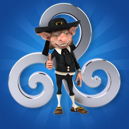 Fun Korrigan - 3D Illustration 写真素材