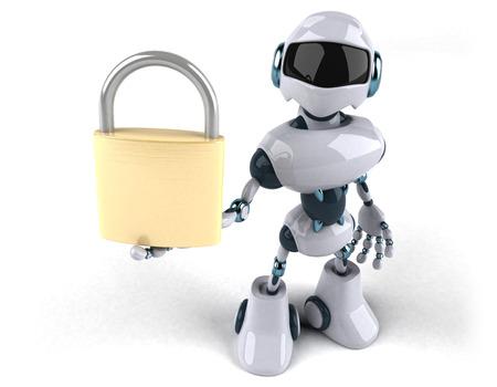 Robot Standard-Bild - 116099682