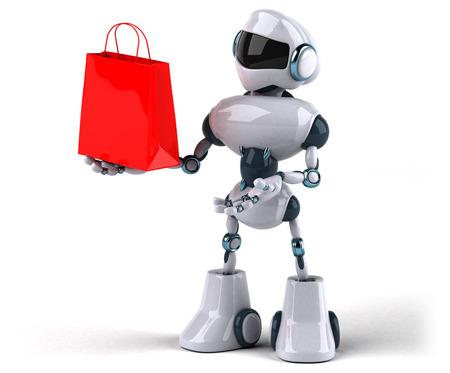 Robot Standard-Bild - 116369738