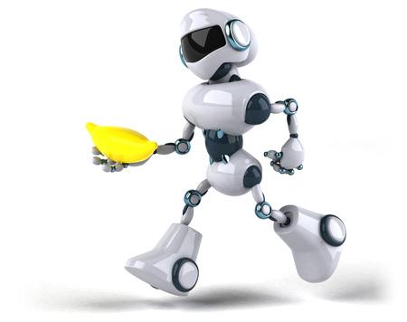 Robot Standard-Bild - 117386186
