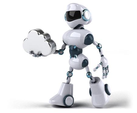 Robot Standard-Bild - 118920885