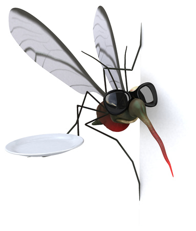 Mosquito - 3D Illustration
