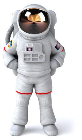 Astronaut standing