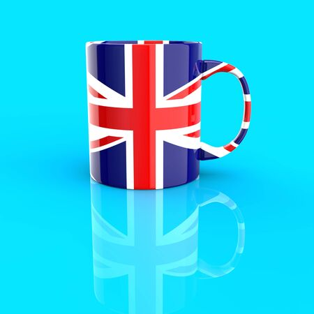 Coffee cup concept - 3D Illustration
