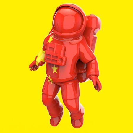 Astronaut concept - 3D Illustration 写真素材