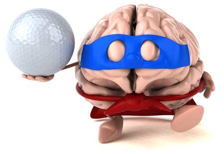 Brain Stockfoto - 128715464