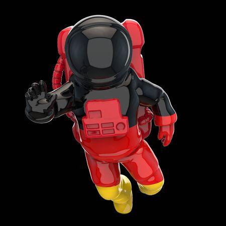 Astronaut concept - 3D Illustration Stock fotó